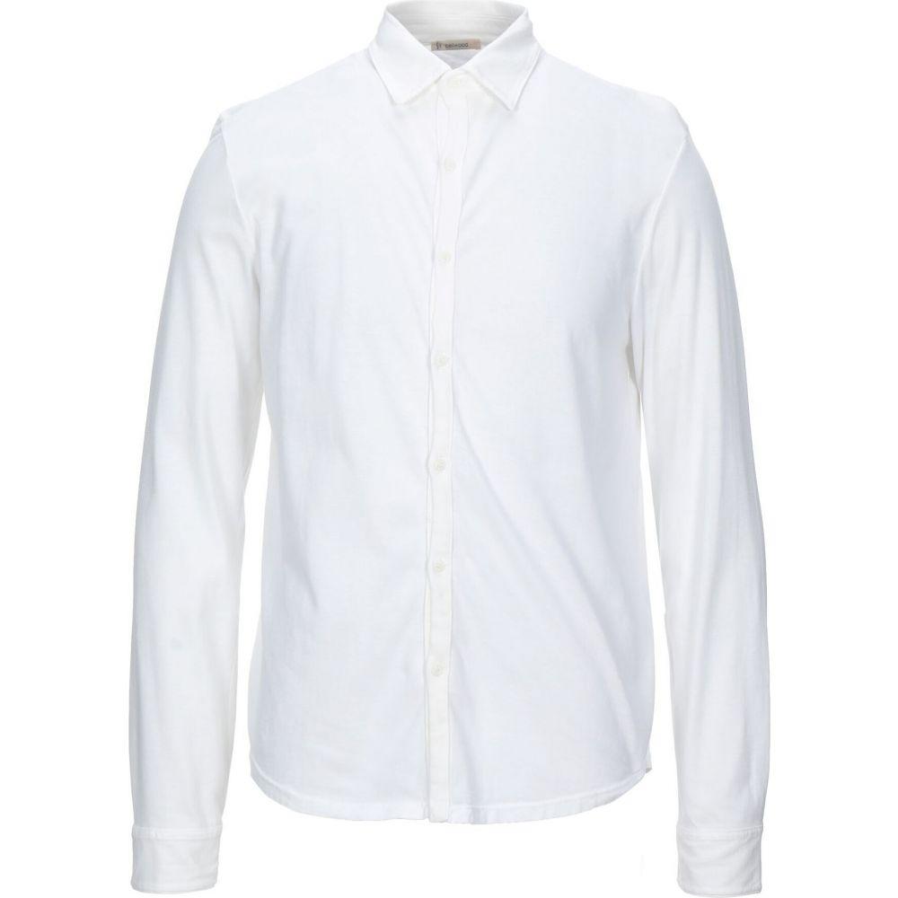 ベルウッド BELLWOOD メンズ シャツ トップス【solid color shirt】White
