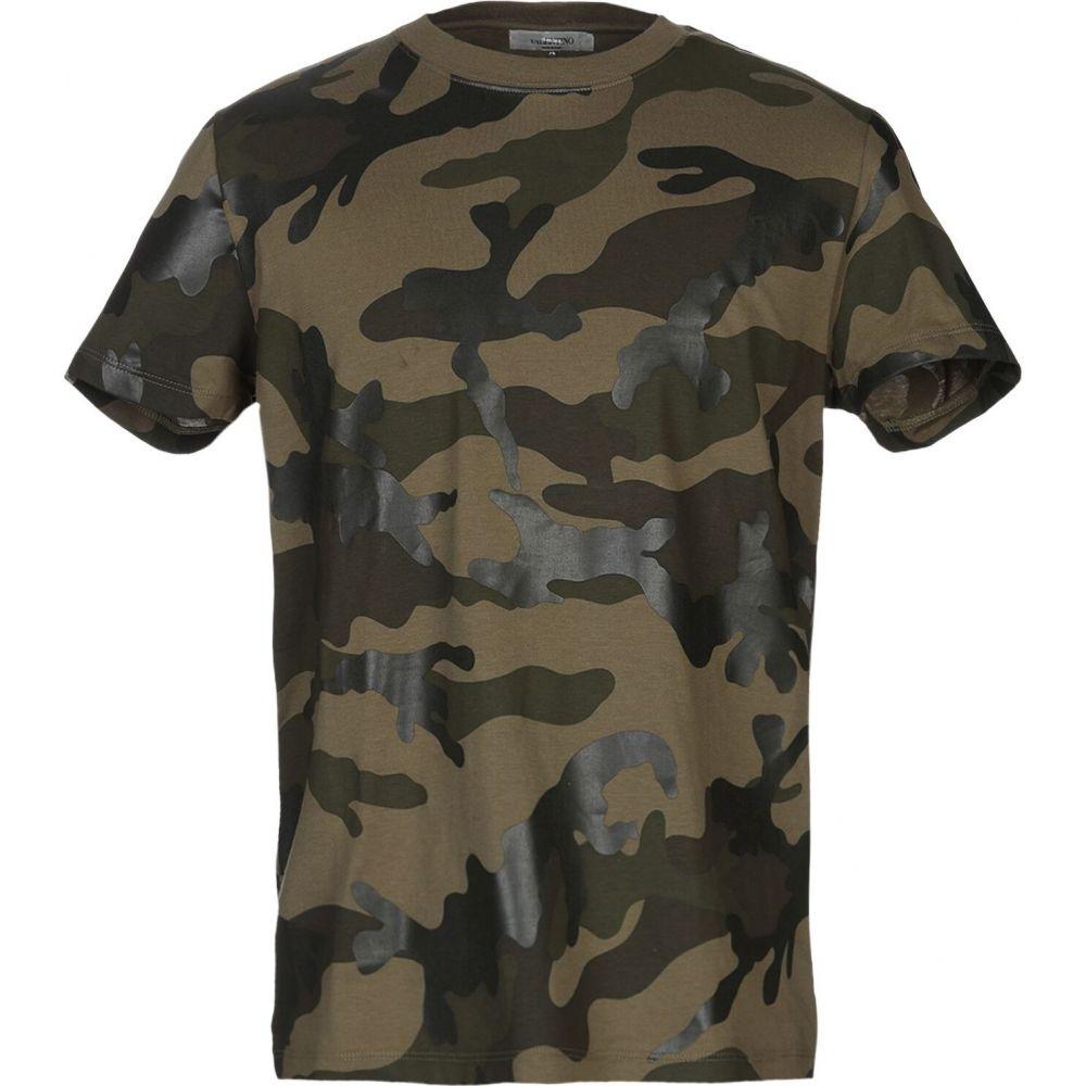 ヴァレンティノ VALENTINO メンズ Tシャツ トップス【t-shirt】Military green