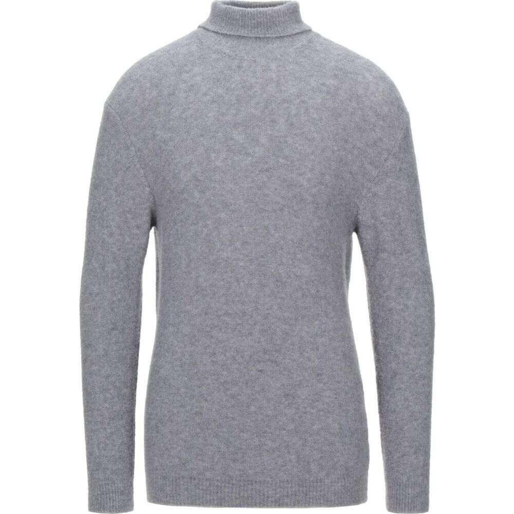 ウールアンドコー WOOL & CO メンズ ニット・セーター トップス【turtleneck】Light grey