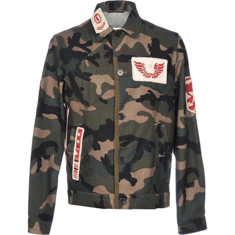 【送料無料/新品】 ヴァレンティノ VALENTINO メンズ ジャケット アウター【jacket】Military green, ヤノスポーツ 5e56b742