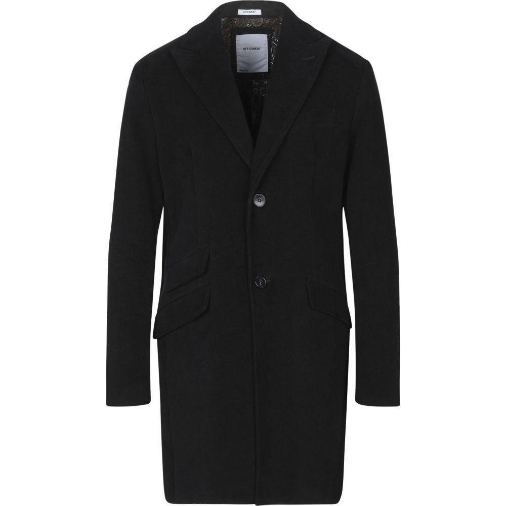 安価 オフィチーナ トレンタ セイ OFFICINA 36 メンズ コート アウター【coat】Black, アピタe-ショップ 070076cc