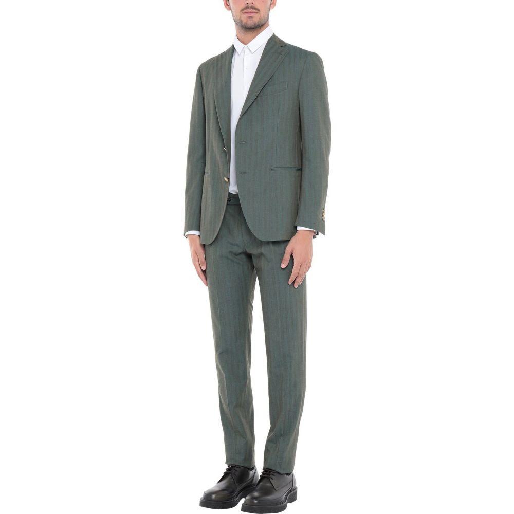 超話題新作 ガブリエレ パジーニ GABRIELE PASINI メンズ スーツ・ジャケット アウター【Suit】Green, ハンザンチョウ b1217e92