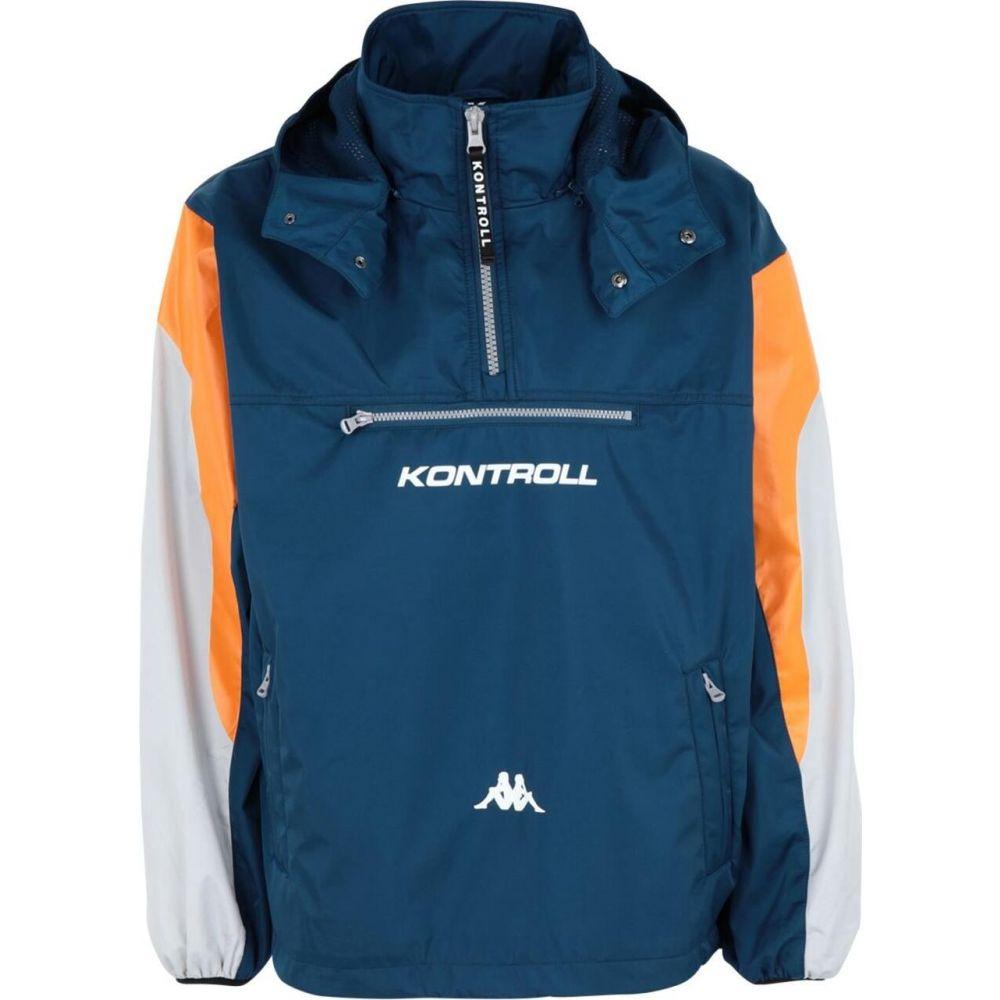 【新発売】 カッパ KAPPA KONTROLL メンズ ジャケット ウィンドブレーカー アウター【kontroll windbreaker】Blue, 輸入家具 雑貨 ハイパードリーム a3735027