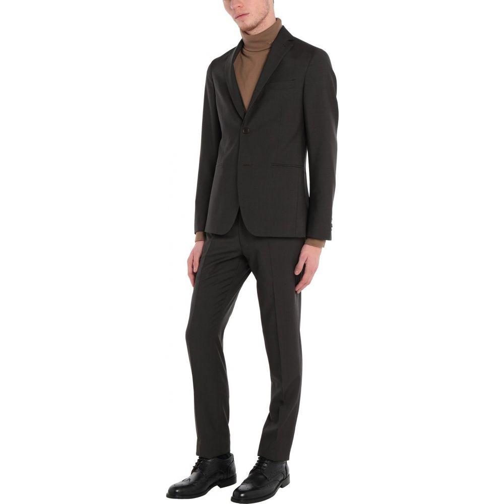 【予約】 カンタレリ CANTARELLI スーツ・ジャケット メンズ メンズ スーツ brown・ジャケット アウター【Suit】Dark brown, cicak & tokek:039ebdfb --- experiencesar.com.ar