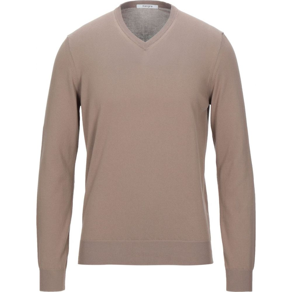評価 カングラ カシミア メンズ トップス ニット セーター Sand 定番の人気シリーズPOINT(ポイント)入荷 sweater KANGRA サイズ交換無料 CASHMERE
