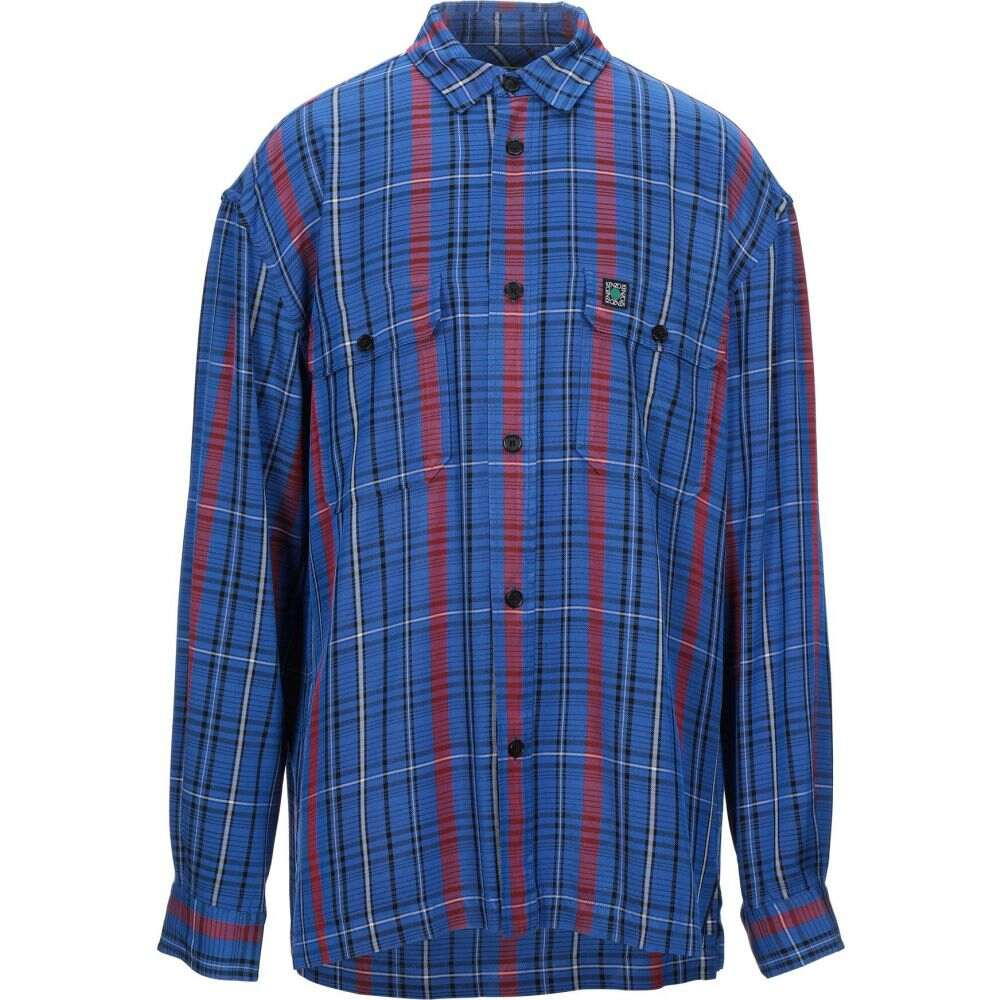 ケンゾー KENZO メンズ シャツ トップス【patterned shirt】Bright blue