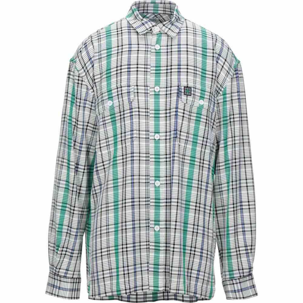 ケンゾー KENZO メンズ シャツ トップス【patterned shirt】White