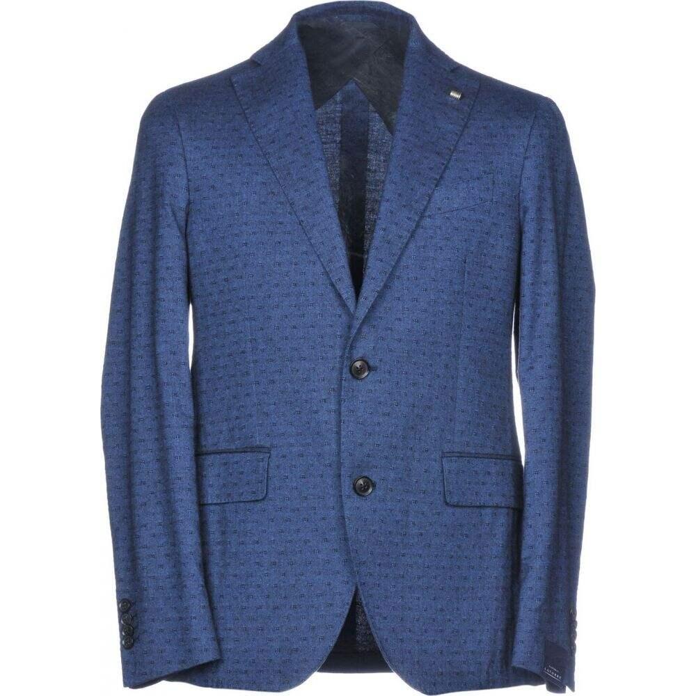 サルトリア ラトーレ メンズ アウター スーツ ジャケット blazer Slate SARTORIA 低価格 blue メイルオーダー LATORRE サイズ交換無料