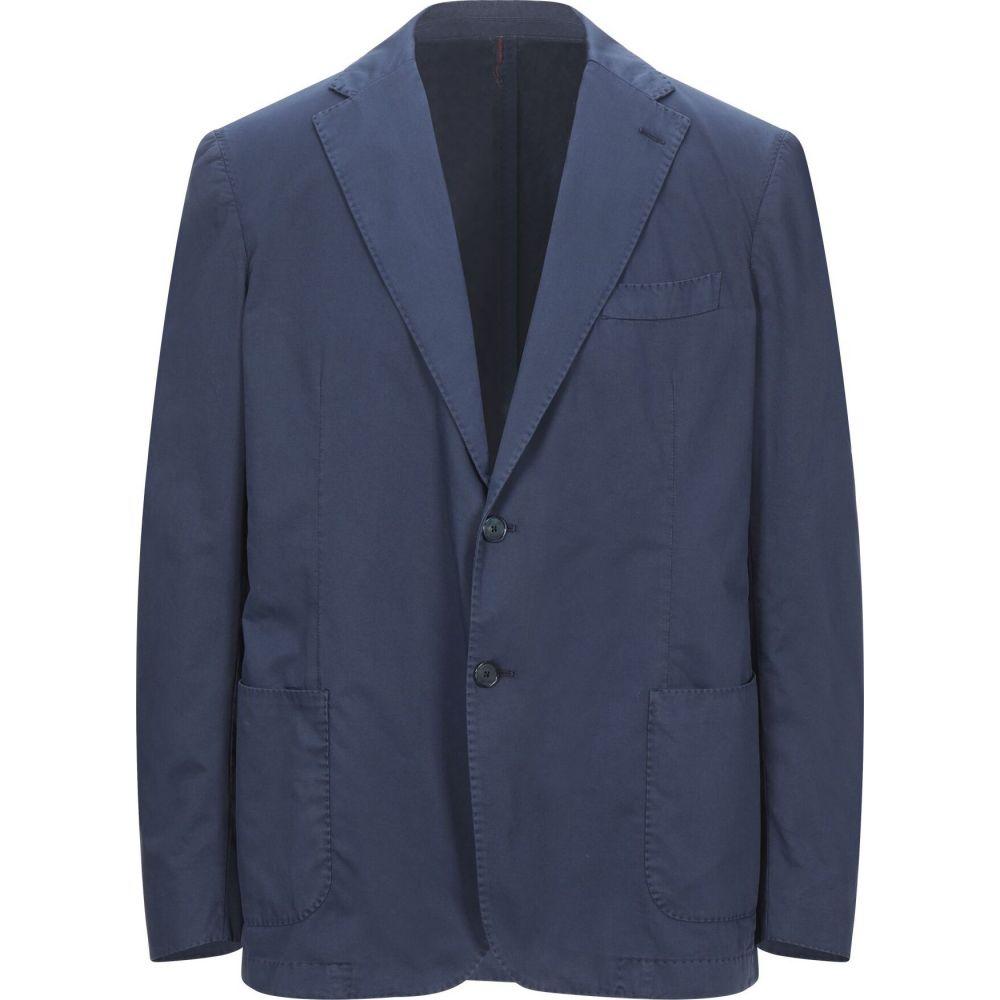 正規代理店 サンタニエッロ SANTANIELLO メンズ スーツ・ジャケット アウター【blazer】Dark blue, LipCrown 4ce7ae66