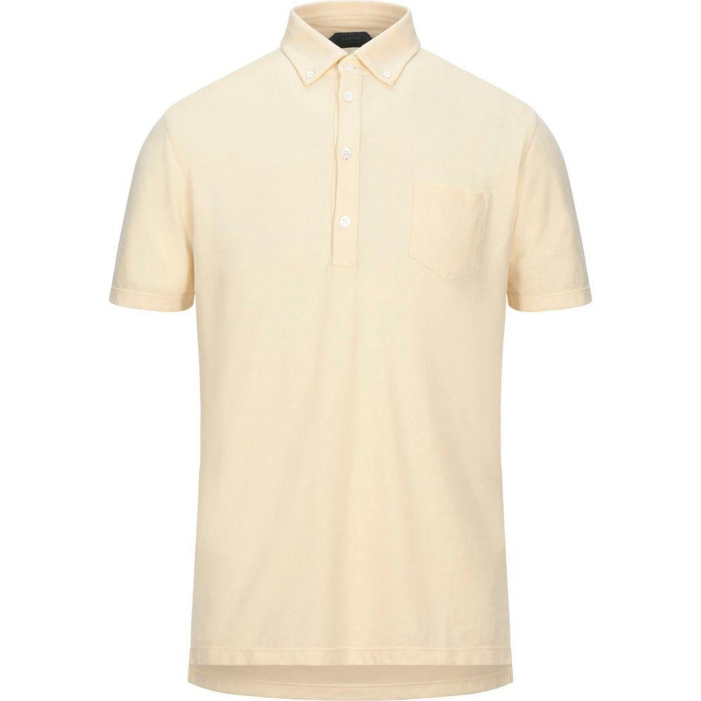 ザノーネ ZANONE メンズ ポロシャツ トップス【polo shirt】Light yellow