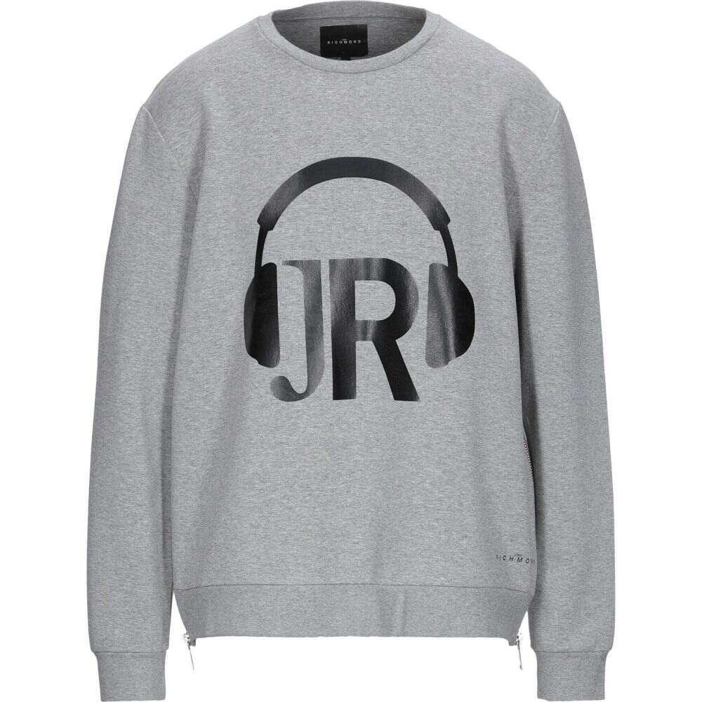 特価 ジョン リッチモンド JOHN RICHMOND メンズ スウェット・トレーナー トップス【sweatshirt】Grey, CooLZONもっと眠りを楽しもう! 93450465