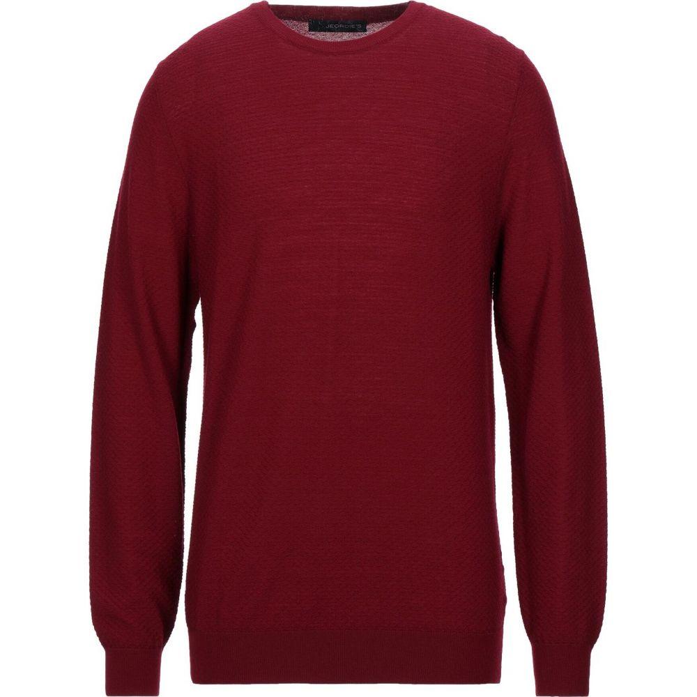 ジョルディーズ メンズ トップス ニット セーター red おしゃれ JEORDIE'S 爆売り Brick サイズ交換無料 sweater