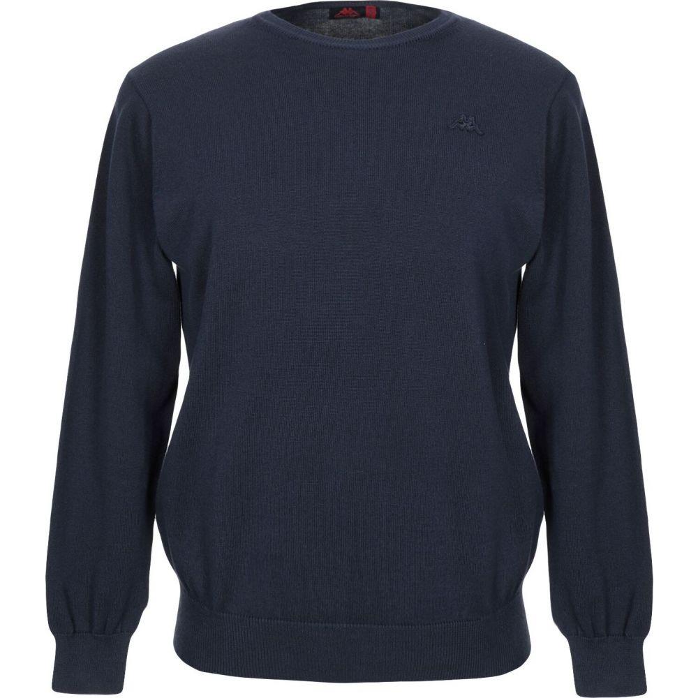 カッパ メンズ トップス ニット セーター Dark DI 春の新作シューズ満載 KAPPA Sweater ROBE blue (訳ありセール 格安) サイズ交換無料