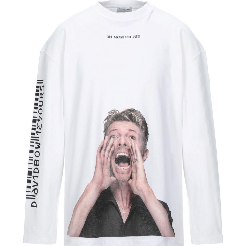上質で快適 インノミネイト IH インノミネイト NOM UH NIT メンズ Tシャツ メンズ トップス【T-Shirt UH】White, unique pocket:aa318e04 --- rishitms.com