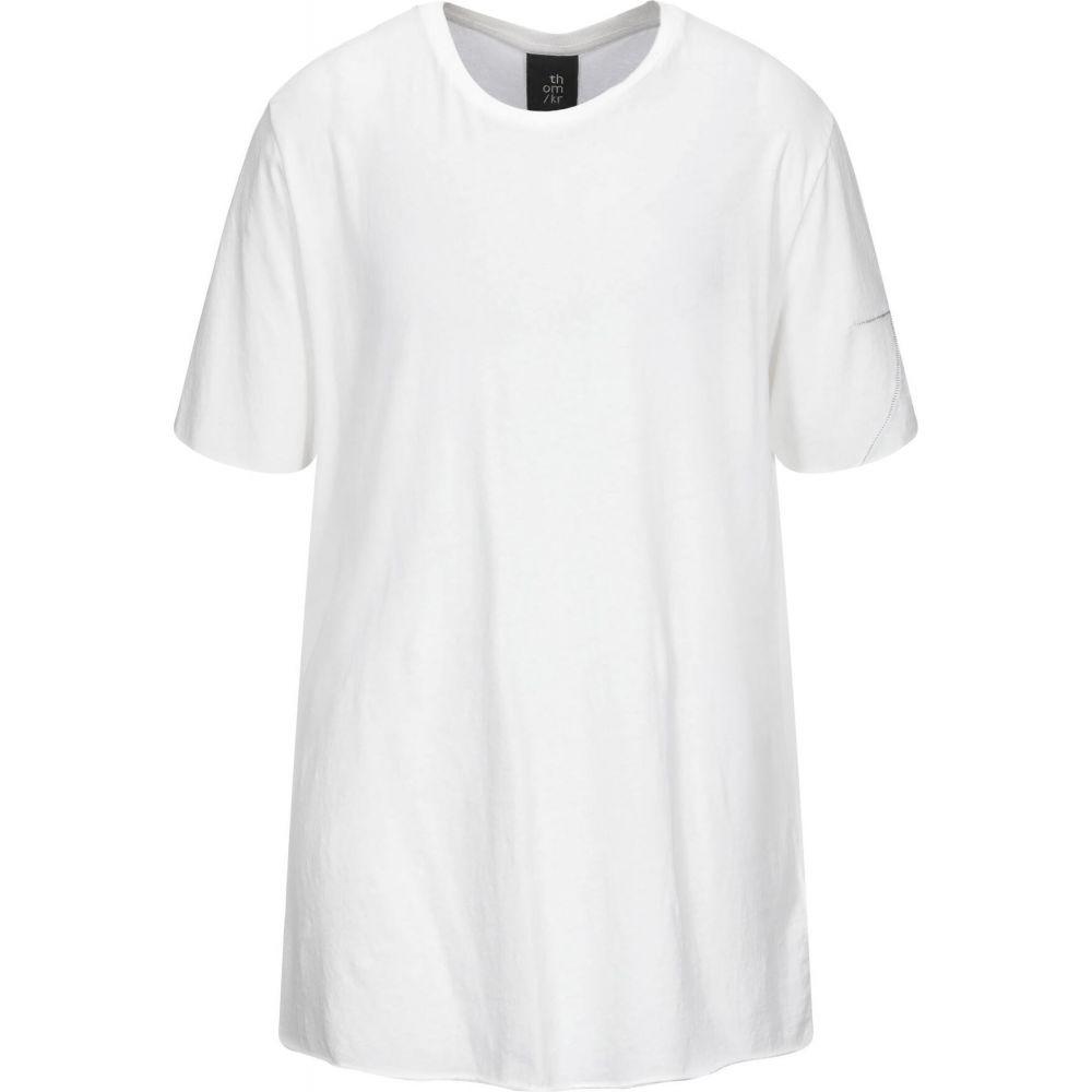 トップス【T-Shirt】White Tシャツ THOM メンズ KROM トム クロム