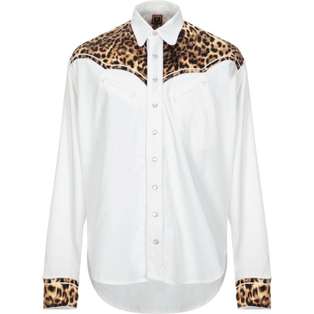 ヒューマンメイド HUMAN MADE メンズ シャツ トップス【solid color shirt】White