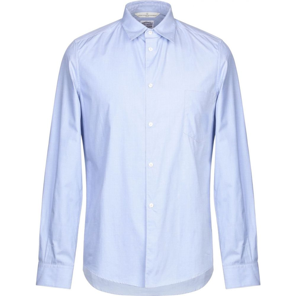 ゴールデン グース GOLDEN GOOSE DELUXE BRAND メンズ シャツ トップス【solid color shirt】Sky blue