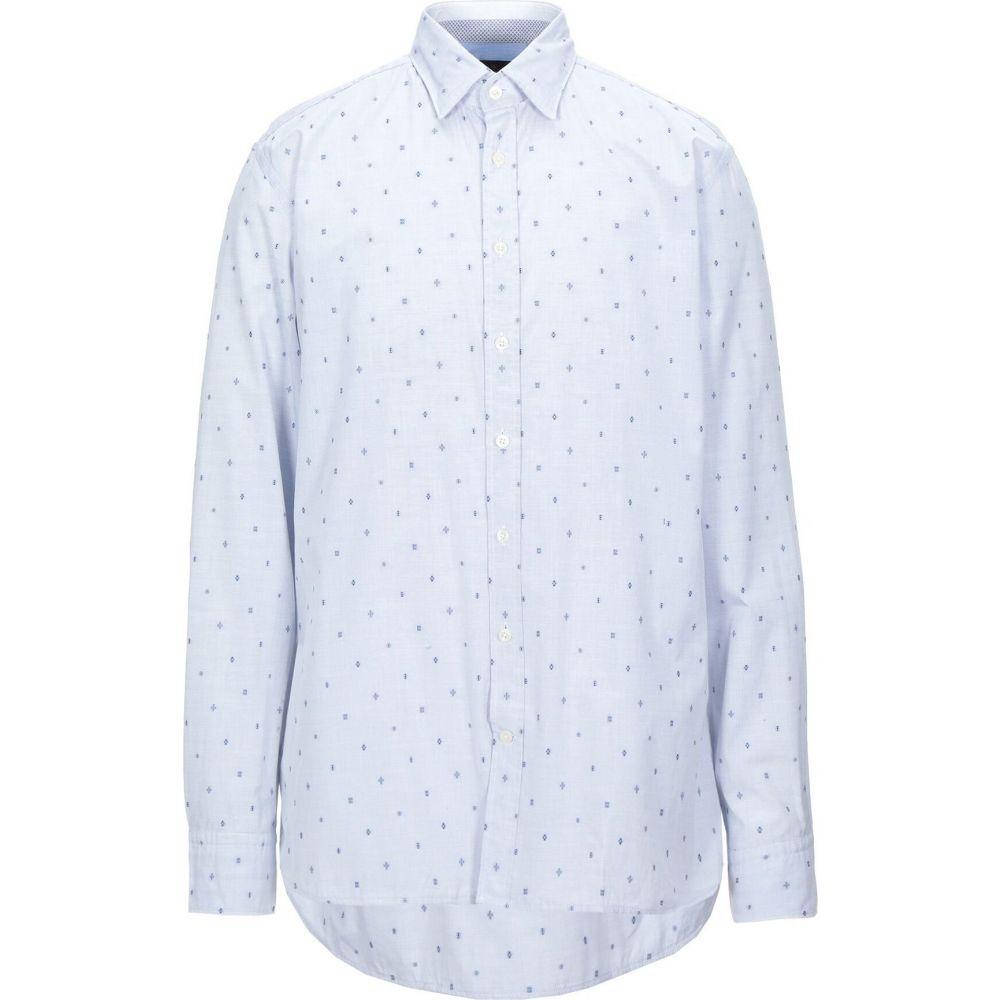 ハケット HACKETT メンズ シャツ トップス【solid color shirt】Sky blue