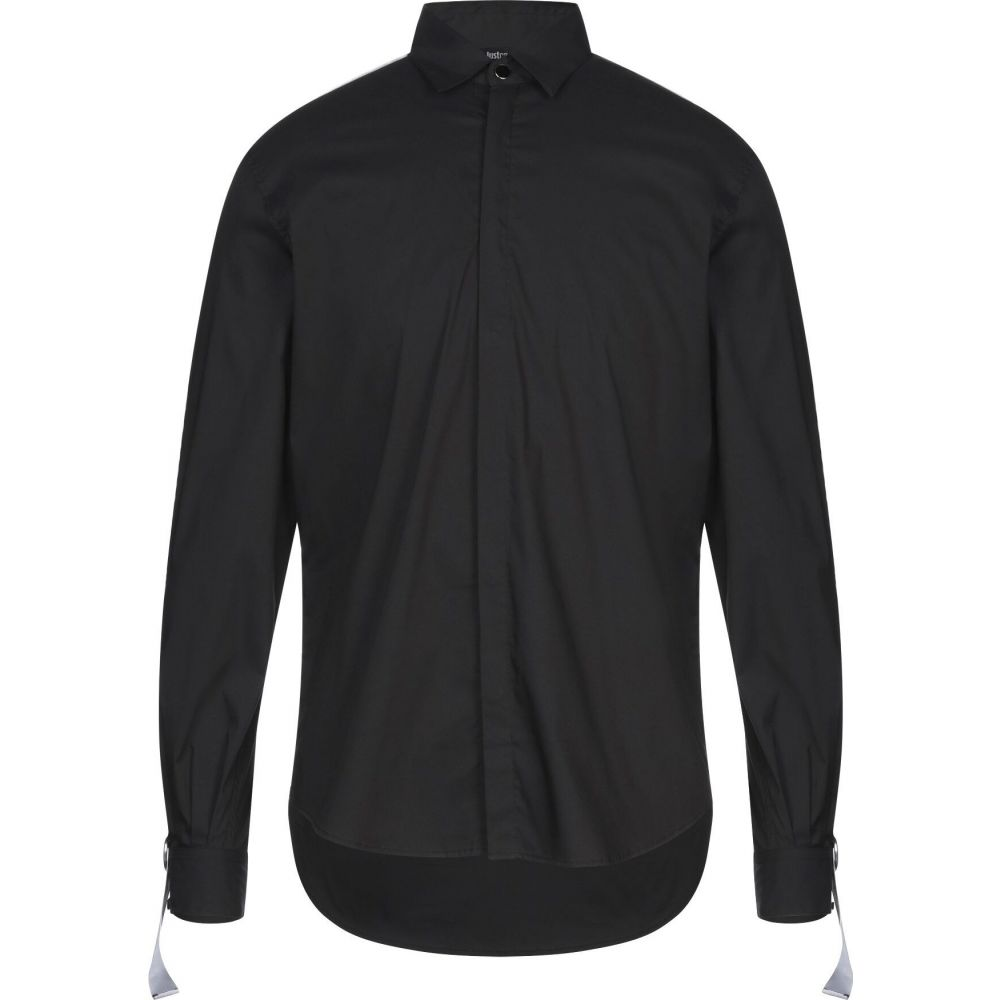 ジャスト カヴァリ JUST CAVALLI メンズ シャツ トップス【solid color shirt】Black