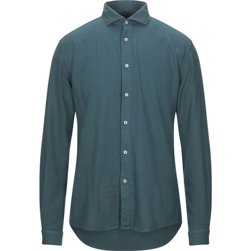リウジョー LIU JO MAN メンズ シャツ トップス【solid color shirt】Green