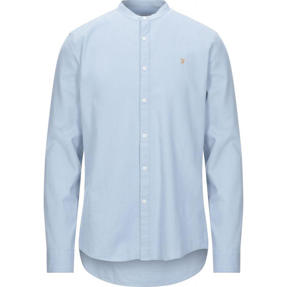 ファーラー FARAH メンズ シャツ トップス【solid color shirt】Sky blue