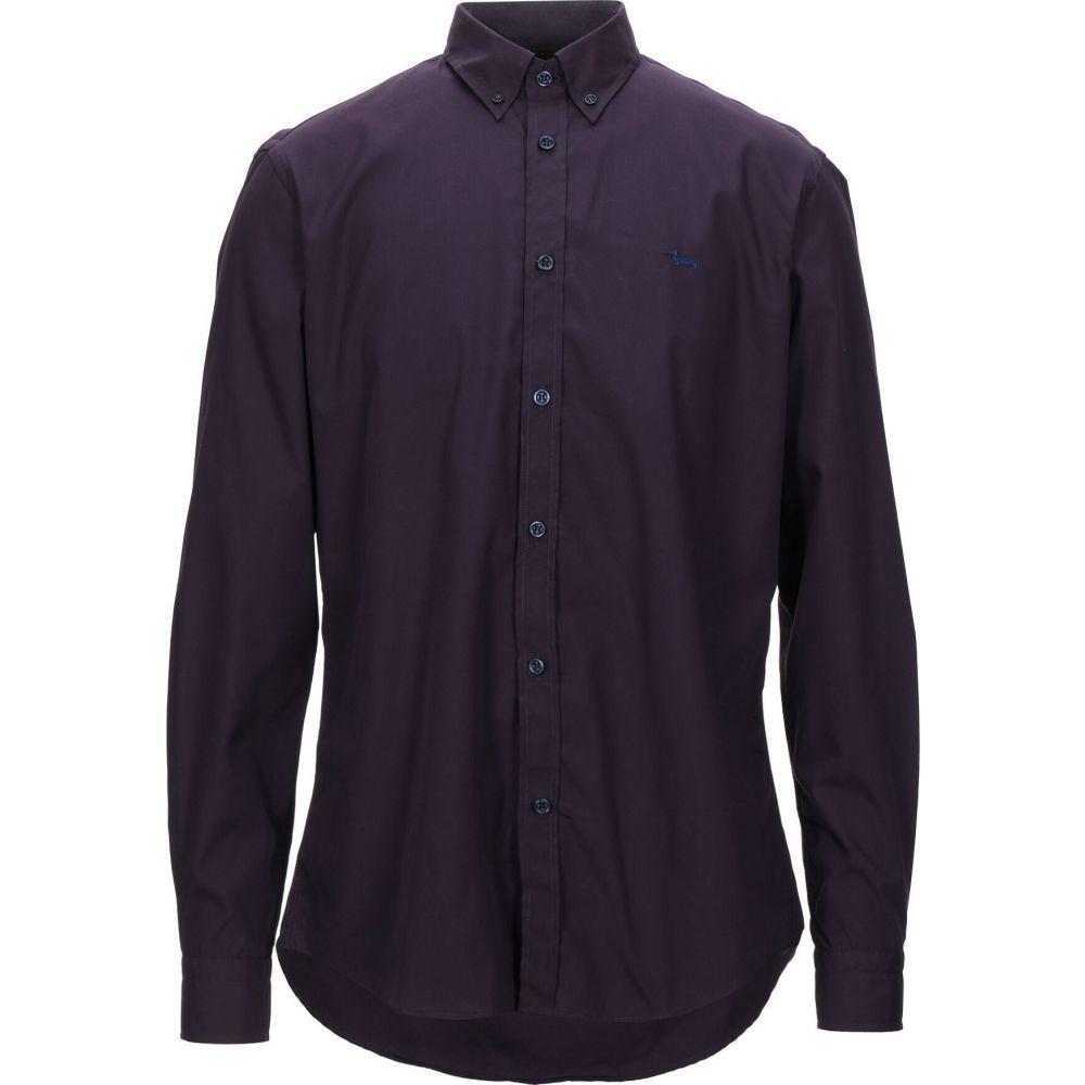 ハーモント アンド ブレイン HARMONT&BLAINE メンズ シャツ トップス【solid color shirt】Dark purple