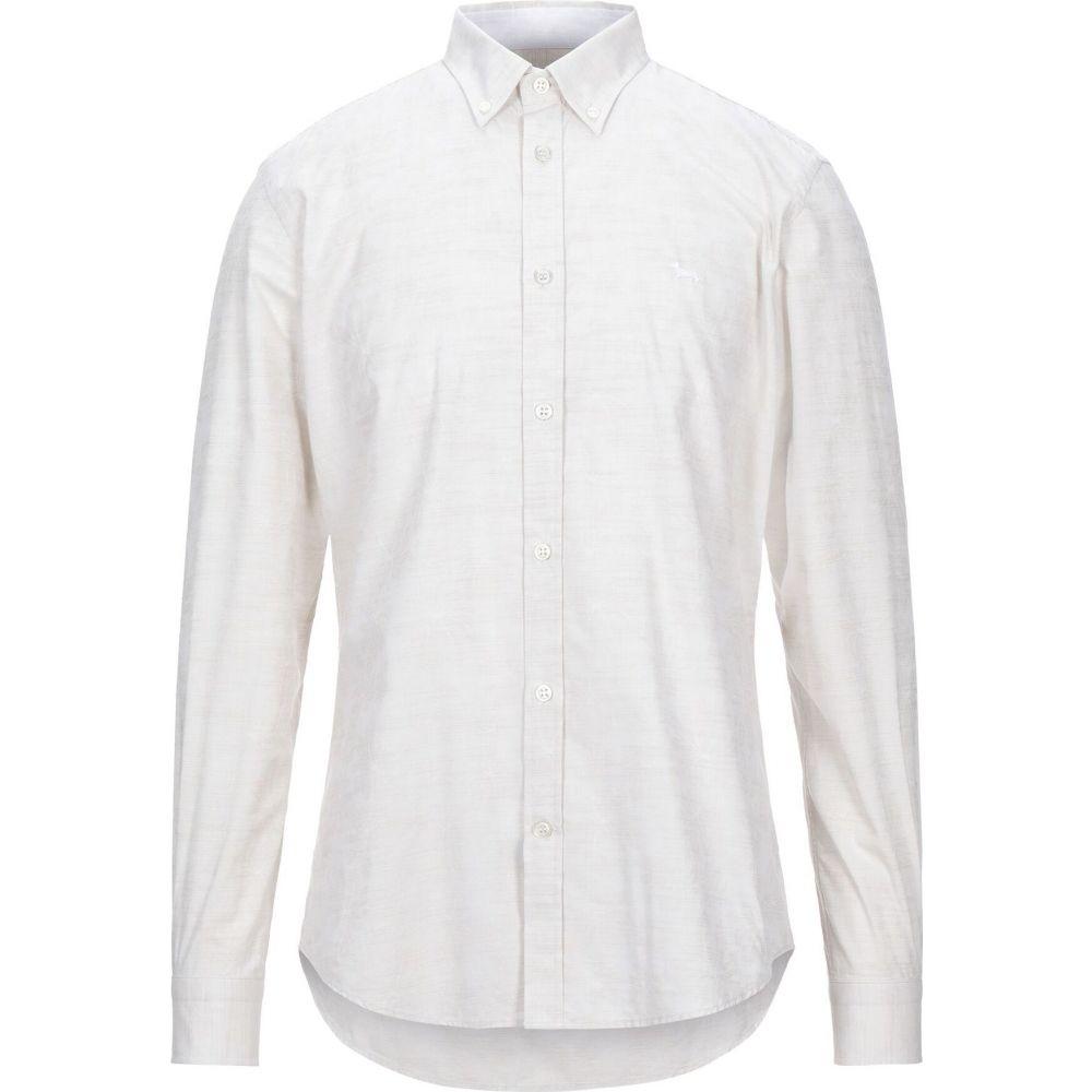 ハーモント アンド ブレイン HARMONT&BLAINE メンズ シャツ トップス【solid color shirt】Beige