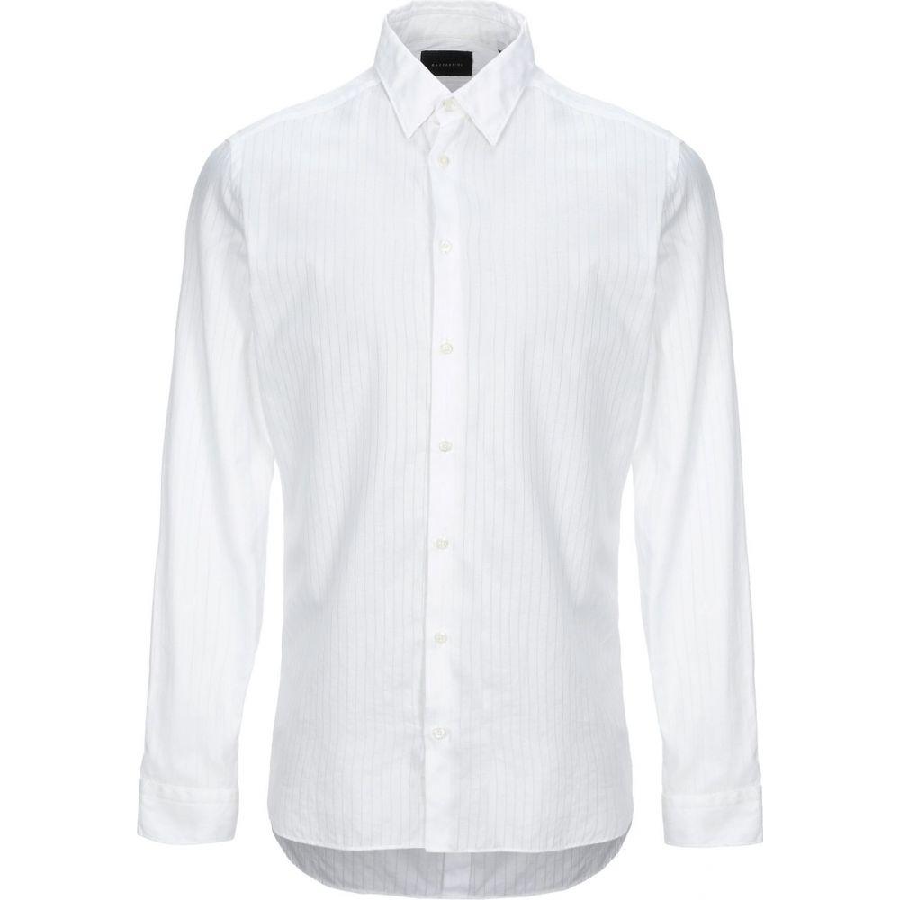 ガッザリーニ GAZZARRINI メンズ シャツ トップス【solid color shirt】White