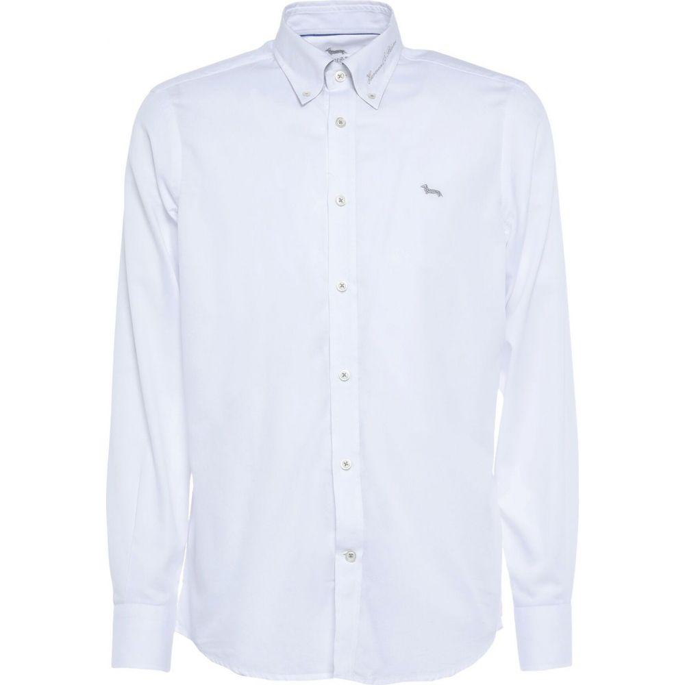 トップス【solid シャツ ブレイン アンド ハーモント shirt】White メンズ color HARMONT&BLAINE