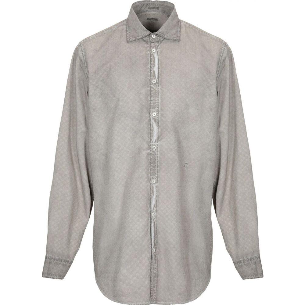 マッシモ アルバ MASSIMO ALBA メンズ シャツ トップス【solid color shirt】Dove grey