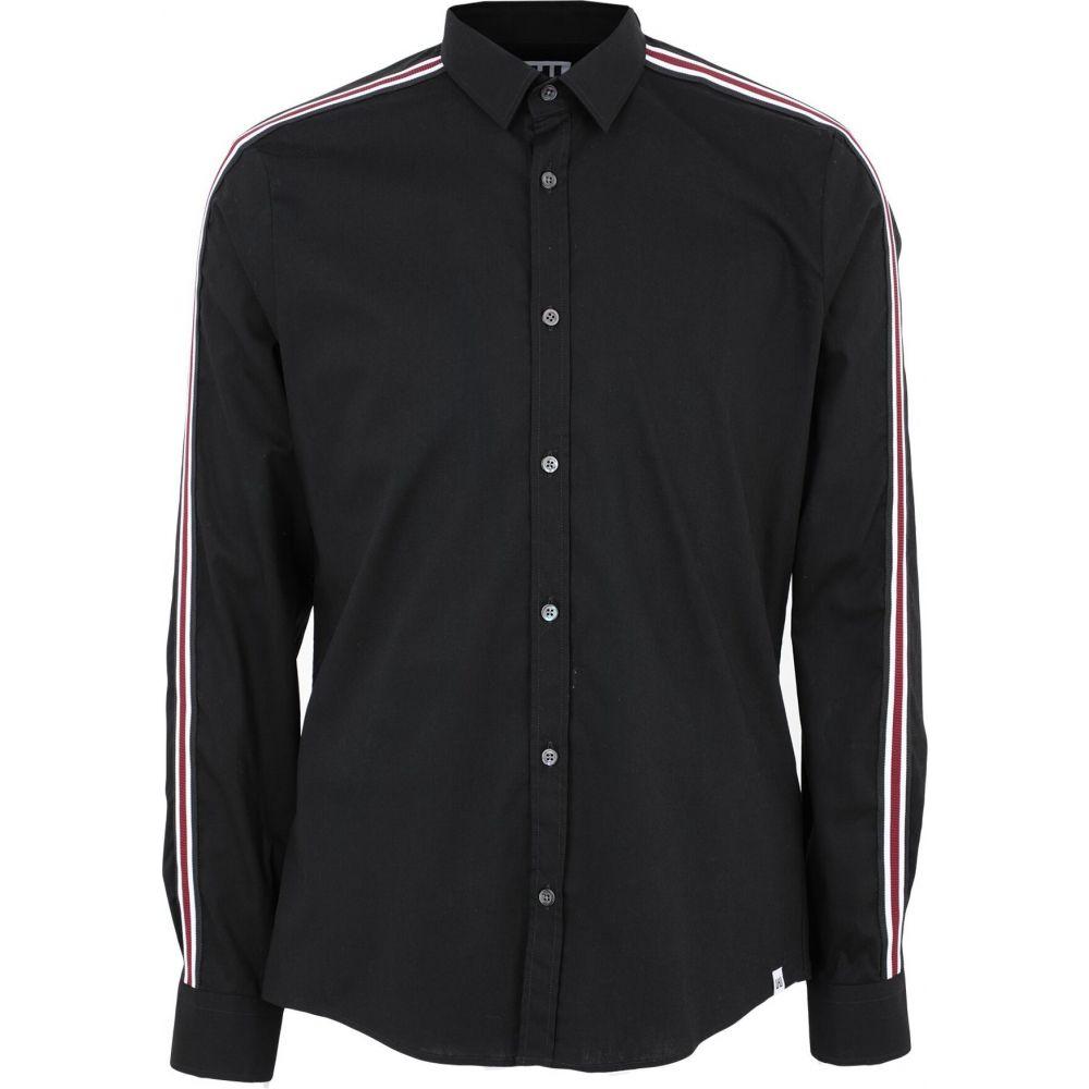 LHU アーバン LHU URBAN メンズ シャツ トップス【solid color shirt】Black