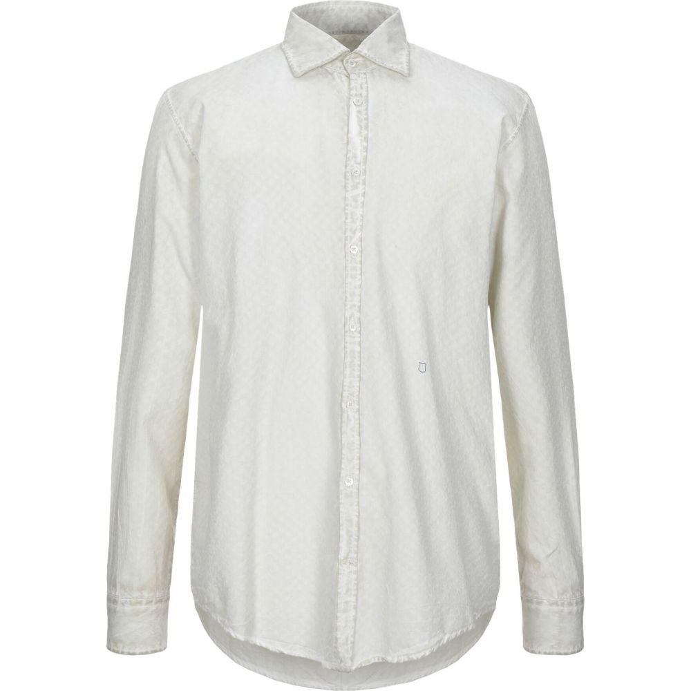 マッシモ アルバ MASSIMO ALBA メンズ シャツ トップス【solid color shirt】Beige