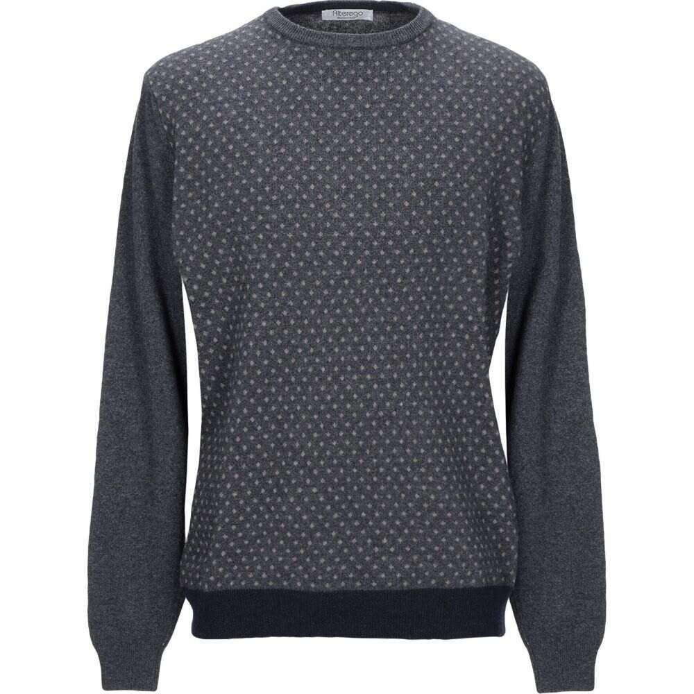 オルターエゴ メンズ トップス ニット セーター Sweater 記念日 ALTEREGO Lead おしゃれ サイズ交換無料