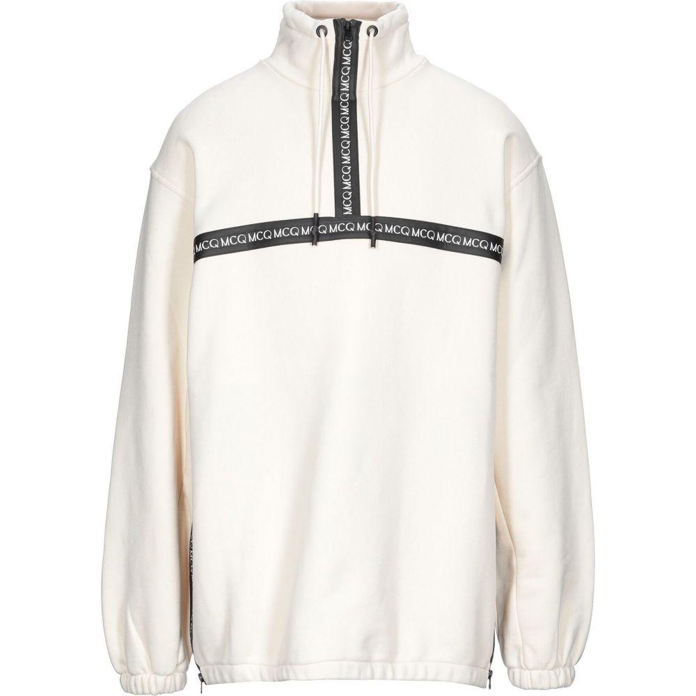 直送商品 アレキサンダー マックイーン McQueen メンズ McQ Alexander McQueen メンズ スウェット マックイーン・トレーナー トップス【Sweatshirt】White, アカギチョウ:2c473f23 --- rishitms.com