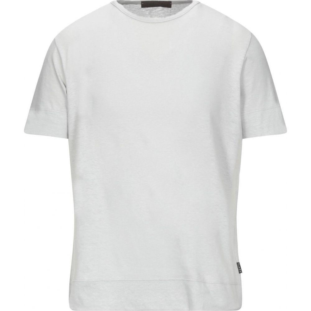 入荷中 アルファ マッシモ レベッキ ALPHA MASSIMO REBECCHI メンズ Tシャツ トップス【T-Shirt】Light grey, 柔らかな質感の 4a57050f