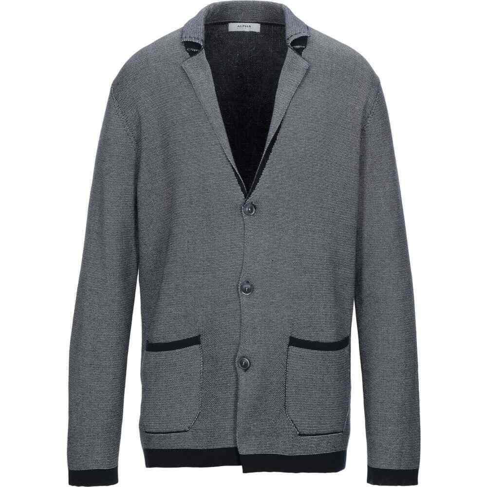 アルファス テューディオ ALPHA STUDIO メンズ スーツ・ジャケット アウター【Blazer】Dark blue