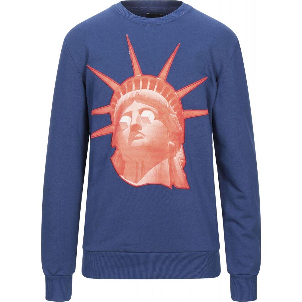 ミニマルクチュール メンズ トップス 大人気! スウェット トレーナー 男女兼用 サイズ交換無料 Sweatshirt MNML Azure COUTURE