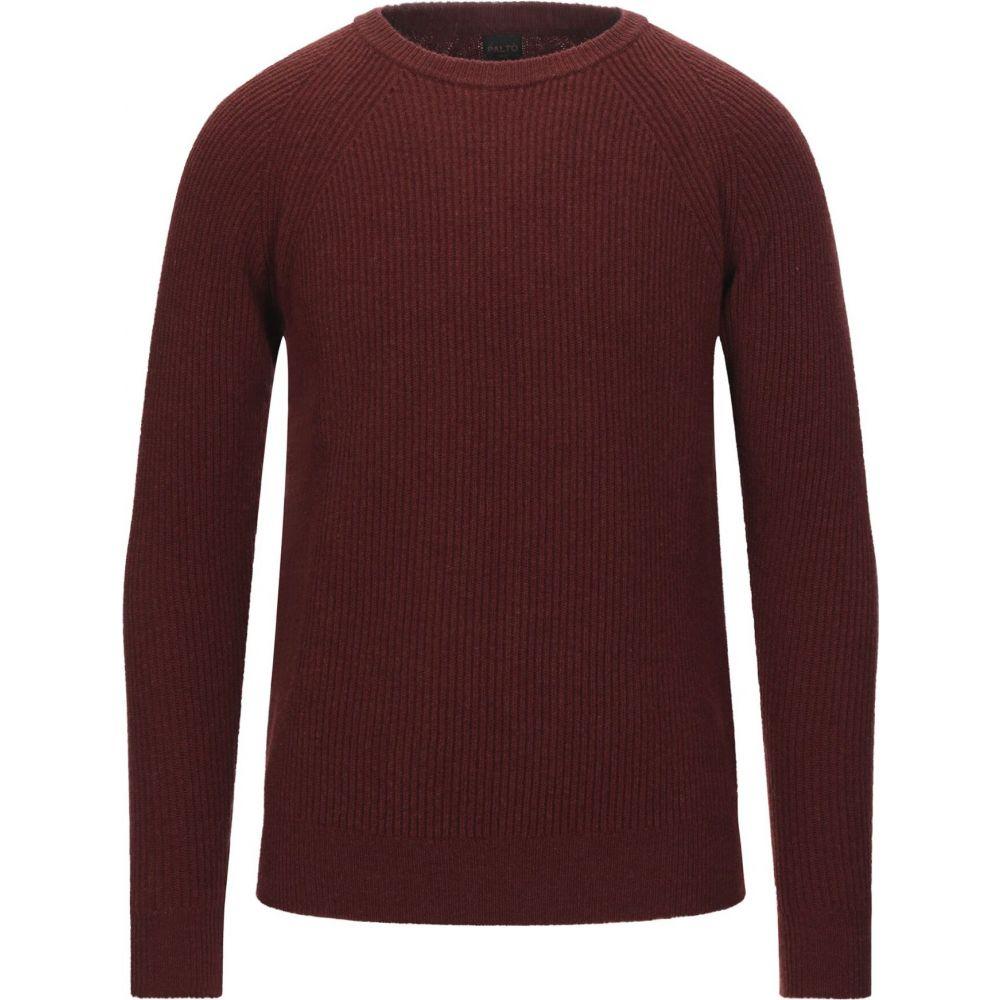 お気に入り パルト メンズ トップス ニット セーター Sweater 激安格安割引情報満載 サイズ交換無料 PALTO Cocoa