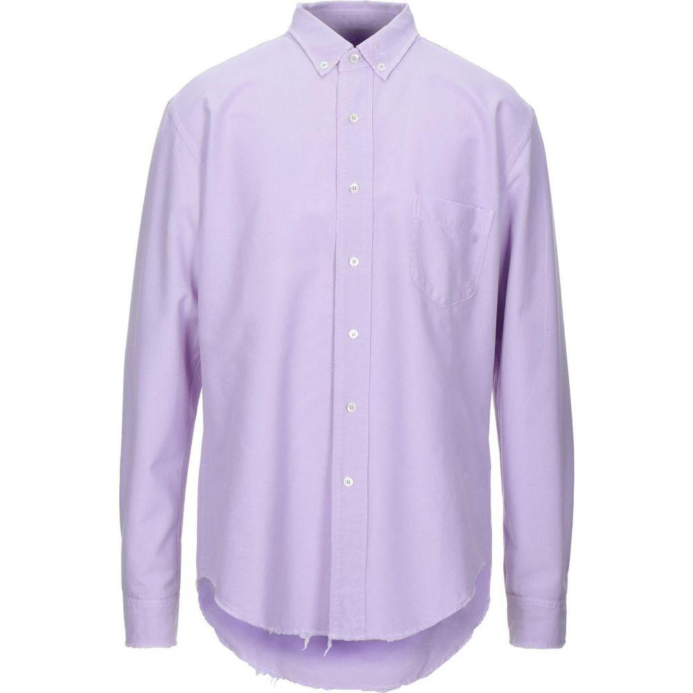 パーム エンジェルス PALM ANGELS メンズ シャツ トップス【solid color shirt】Lilac
