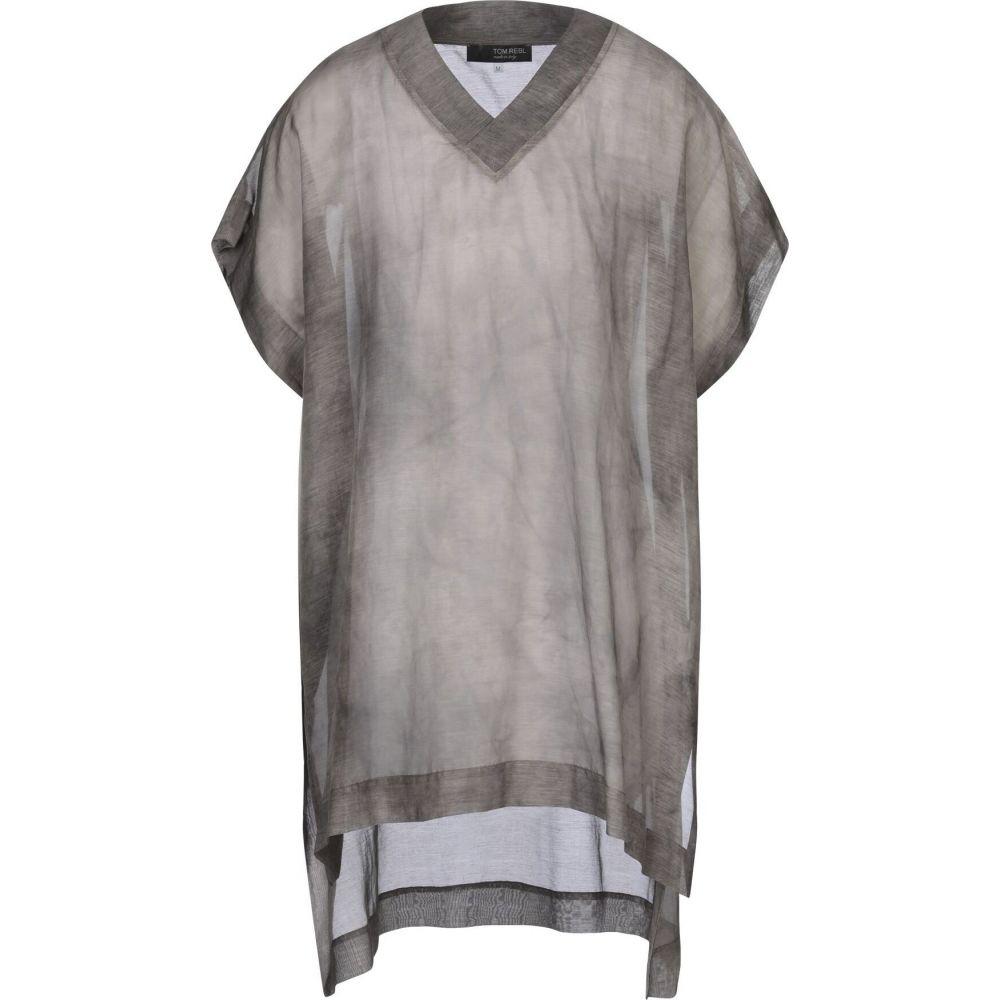 トップス【solid TOM REBL メンズ shirt】Khaki トム color シャツ レベル