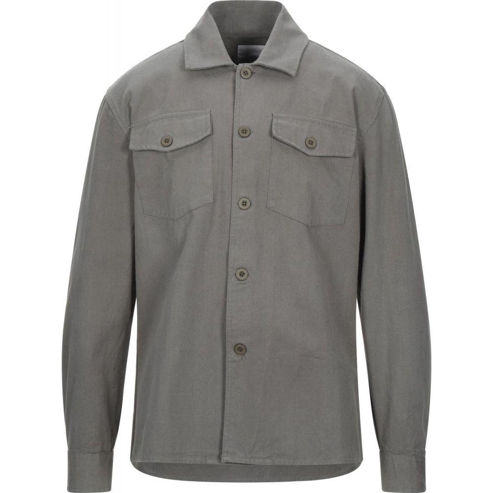 ミニマム MINIMUM メンズ シャツ トップス【solid color shirt】Military green