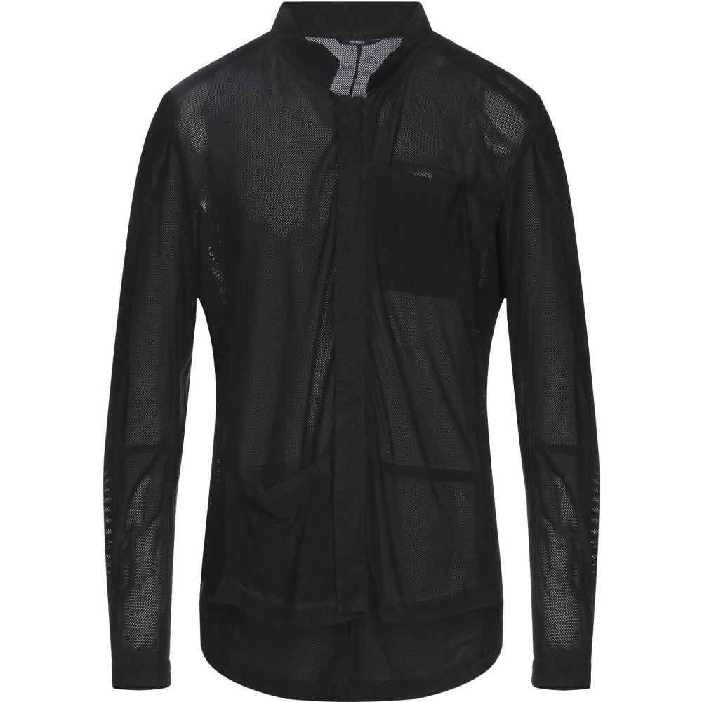 プレミアータ PREMIATA メンズ シャツ トップス【solid color shirt】Black