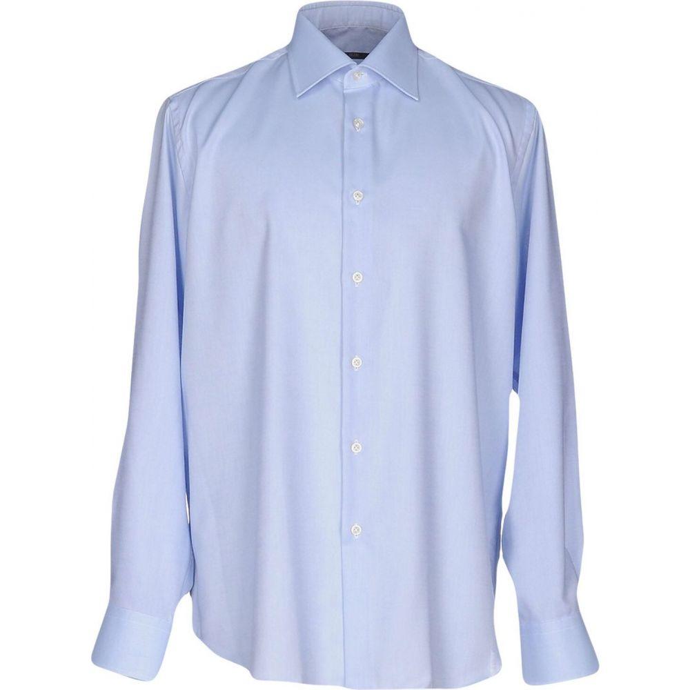 パル ジレリ PAL ZILERI メンズ シャツ トップス【solid color shirt】Sky blue