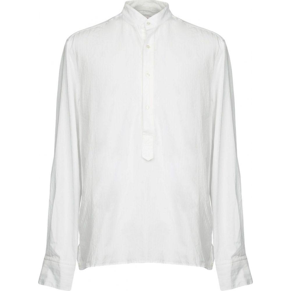 マイケル バスティアン MICHAEL BASTIAN メンズ シャツ トップス【solid color shirt】White