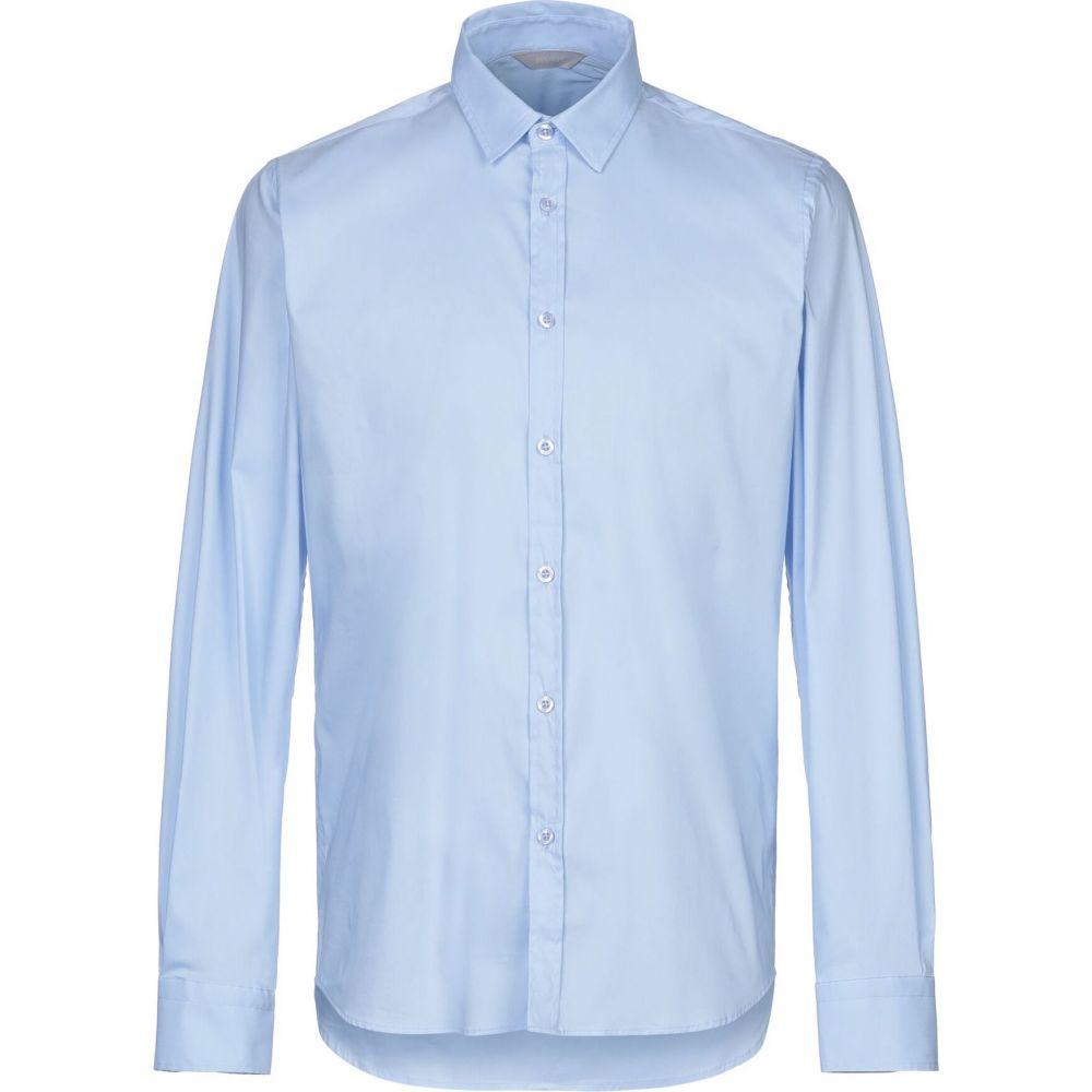 センス SSEINSE メンズ シャツ トップス【solid color shirt】Sky blue