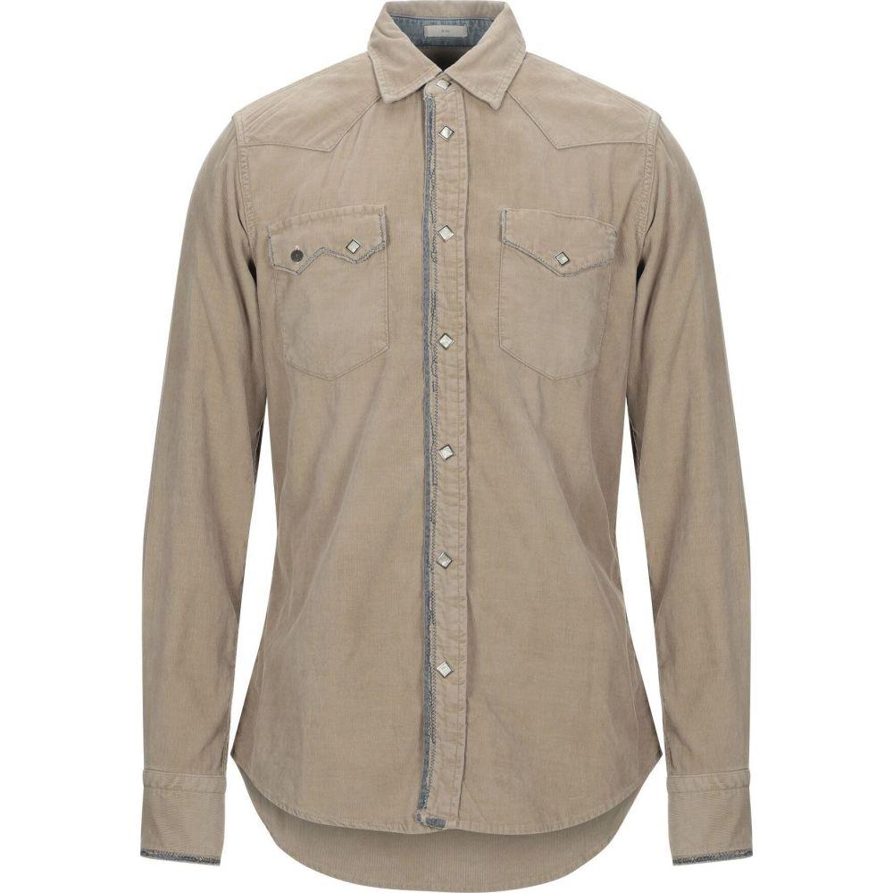 ロイロジャース ROY ROGER'S メンズ シャツ トップス【solid color shirt】Khaki