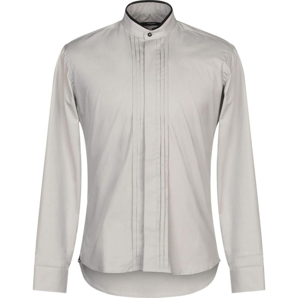 タケシ クロサワ TAKESHY KUROSAWA メンズ シャツ トップス【solid color shirt】Grey