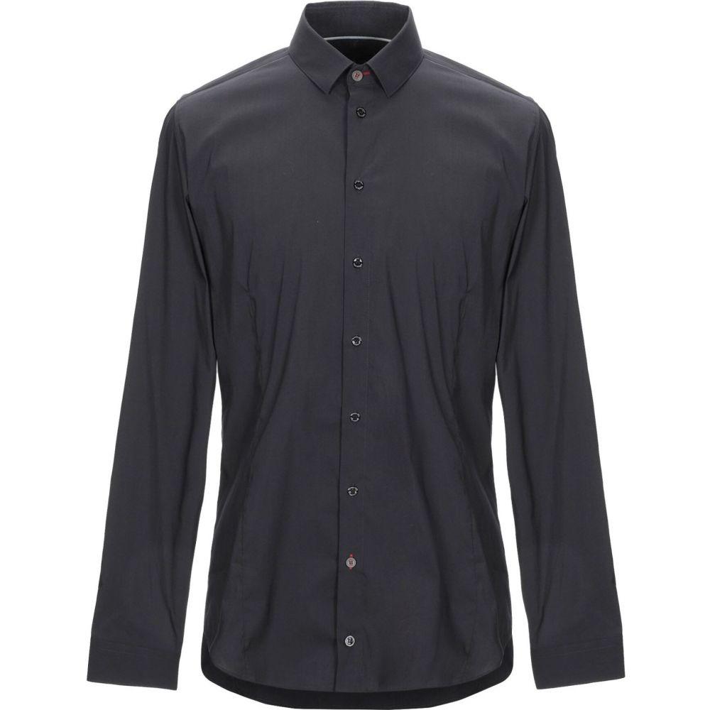 パトリツィア ペペ PATRIZIA PEPE メンズ シャツ トップス【solid color shirt】Steel grey