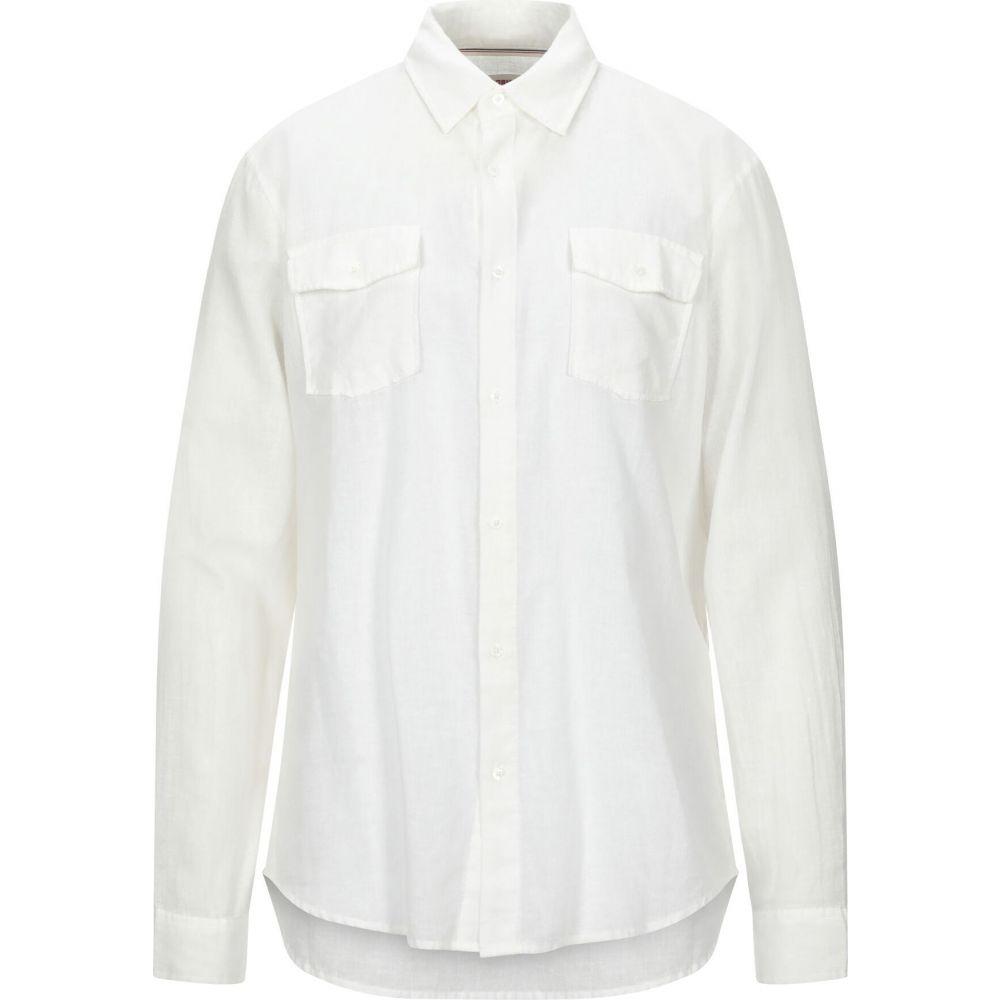 オスクレン OSKLEN メンズ シャツ トップス【solid color shirt】Ivory