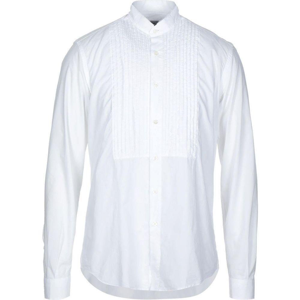 プレジデンツ PRESIDENT'S メンズ シャツ トップス【solid color shirt】White